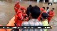 NDRF continues rescue operation in flood-affected areas in Gujarat