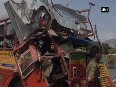 Caught on cam: BEST bus jumps signal, gets collided with high-speed car