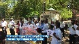 Madurai lawyers protest over custodial deaths of father-son duo.mp4