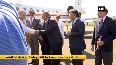 Home Minister Amit Shah arrives in Srinagar