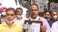 Punjab contractual employees protest outside Congress HQ