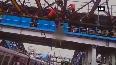 Man climbs at Mumbai's Malad stn bridge, creates chaos