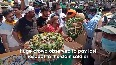 Mortal remains of CRPF personnel, killed in Baramulla terror attack, brought to Mirzapur.mp4
