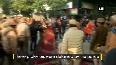 Demonstrators protest against Jamia firing incident, detained by Delhi Police