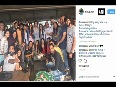 Tiger Shroff, Disha Patani start shooting for Baaghi 2 with cake cutting ceremony