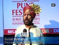 Bollywood stars dazzle cultural festival on ganesh chaturthi in pune
