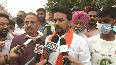 Anurag Thakur participates in Clean India campaign in Chandigarh