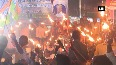 Watch Uttarandhra Charcha Vedika holds candle protest rally demanding special status for Andhra Pradesh