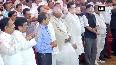 Watch: Sena-NCP-Congress MLAs take oath in Mumbai