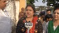BJPs women wing stage protest against Azam Khan over controversial statement on Jaya Prada