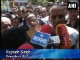Bjp president rajnath singh files nomination from lucknow