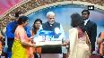 PM Modi attends BJP womens wing national convention in Gujarat