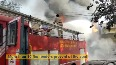 Massive fire breaks out at Ghaziabad manufacturing factory
