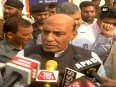 Terrorism is weapon of weak people Home Minister Rajnath Singh