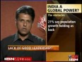 What s holding India back  Its leaders