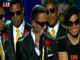 Jackson  FAMILY - Brothers  Comments - Michael Jackson Memorial Service