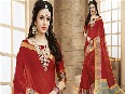 Plain-Sarees-Online-Simple-Chiffon-Georgette-Saree-Blouse-Designs-for-Casual-Wear-At-Low-Price (2)