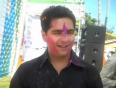 TV actor Karan Mehra on Holi