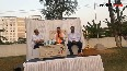 Tejasvi Surya, tells voters about himself