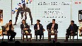 Abhinav Bindra speaks at the book launch of Dreams of a Billion - India and the Olympic Games