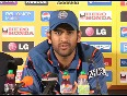 Dhoni on India's WC T20 performance