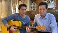 Composer Jatin Pandit, son Raahul sing for Rediff