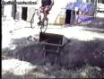 Funny videos - jackass on bike