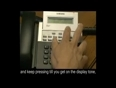 How to change ddi ring tone on a samsung telephone system