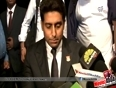 Footballers Should Get Love and Respect Like Cricketers   Abhishek Bachchan