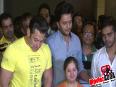 Salman Khan and Govinda at Riteish Deshmukh s YELLOW Movie Screening