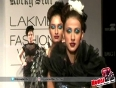 Ankita Shorey Showstopper For Rocky S Show at LFW Winter Festive 2013