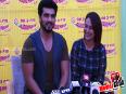 Arjun Kapoor and Sonakshi Sinha Promote Tevar AT Radio Mirchi  98.3 FM