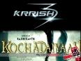 Krrish 3 To Clash With Rajnikanths Film Kochadaiyaan