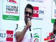Ajaz Khan Unveils ICC T20 World Cup Trophy