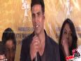 Akshay Kumar at  'Thann Than Gopal ' Muhurat Of Marathi Film