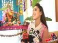 Hrishita Bhatt Seek Blessings Of Ganpati Bappa