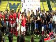 Ira Aamir Khans Charity Football Match  Salman  Aamir  Abhishek and Hrithik
