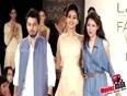Sonal Chauhan Walks For Siyaahi Talent Box   Lakme Fashion Week 2013 !