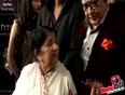 Lata Mangeshkar Honoured With Nightangle of the Century Award at Star Guild Awards 2013 !