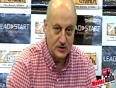 Anupam Kher Launches The Book  The Divine And The Destiny  !