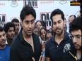 Abhishek Bachchan at Dino Morea 's DM Fitness studio launch