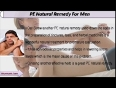 PE Natural Remedy And Treatment For Men