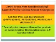 Geoworks 1000 Trees  9873687898 Residential Project sohna