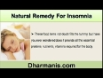 Difficulty Getting Sleep At Night, Find Natural Remedy For Insomnia