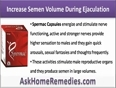 How To Increase Semen Volume During Ejaculation