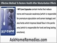 Is There Any Natural Way To Restore Health After Masturbation Effects