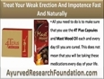 How Can I Treat My Weak Erection And Impotence Fast And Naturally