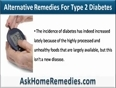 Alternative Remedies For Type 2 Diabetes Help Control Blood Sugar Levels Safely