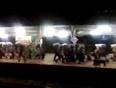 Crowd at durg railway station