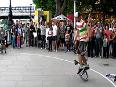 Acrobatic Bicycle Performers